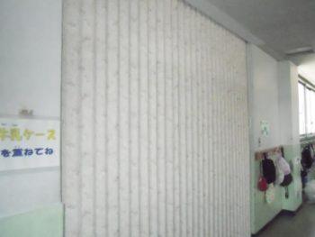 リフォーム新座市馬場 小学校の給食配膳用エレベーターフロア工事