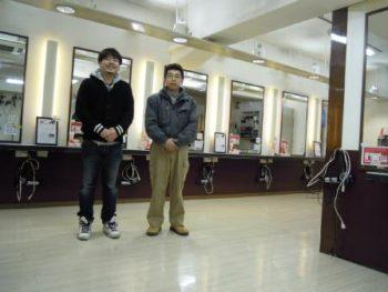 階段・床張り替えリフォーム 東京都練馬区大泉学園 美容院K´様