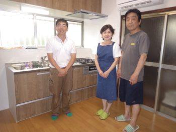 和光市 T様邸 キッチン・フローリング、エアコン取り付けリフォーム事例