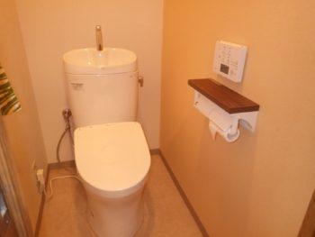 和光市 H様邸 水まわりリフォーム、棚板設置事例